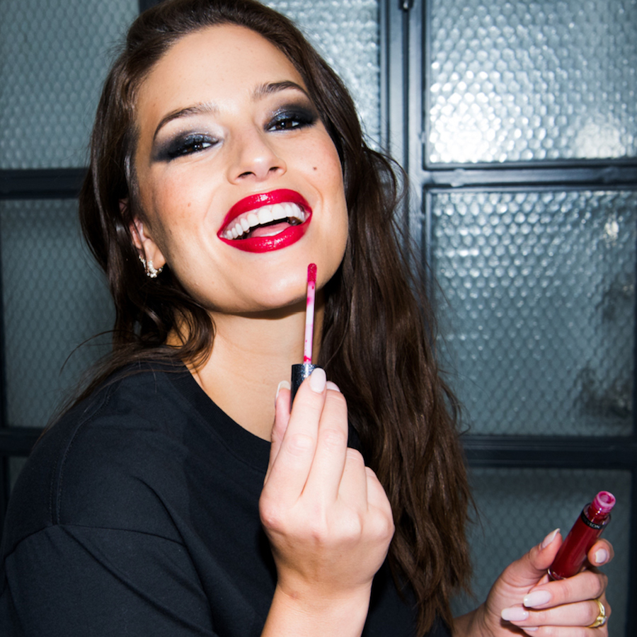 e38d76ec75bf Behind the Scenes: Ashley Graham's Created the Ultimate Lip Kits!