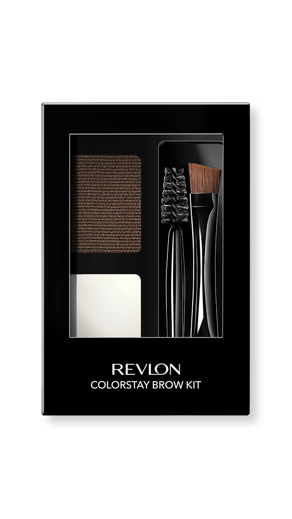 revlon eye colorstay brow kit dark brown