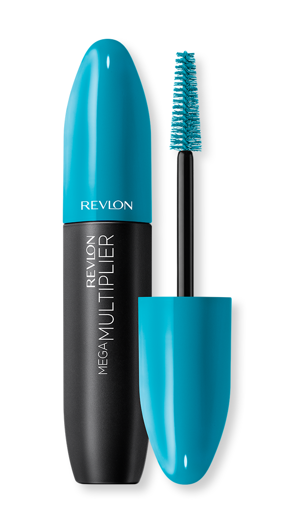 revlon eye mega multiplier mascara blackest black