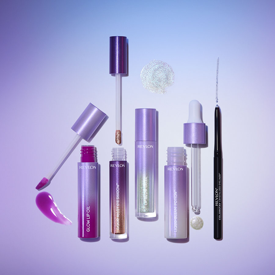 Revlon Crystal Aura Products Group Shot