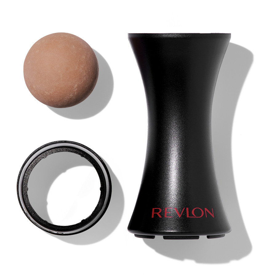 revlon beauty tools oil absorbing volcanic roller product close up details