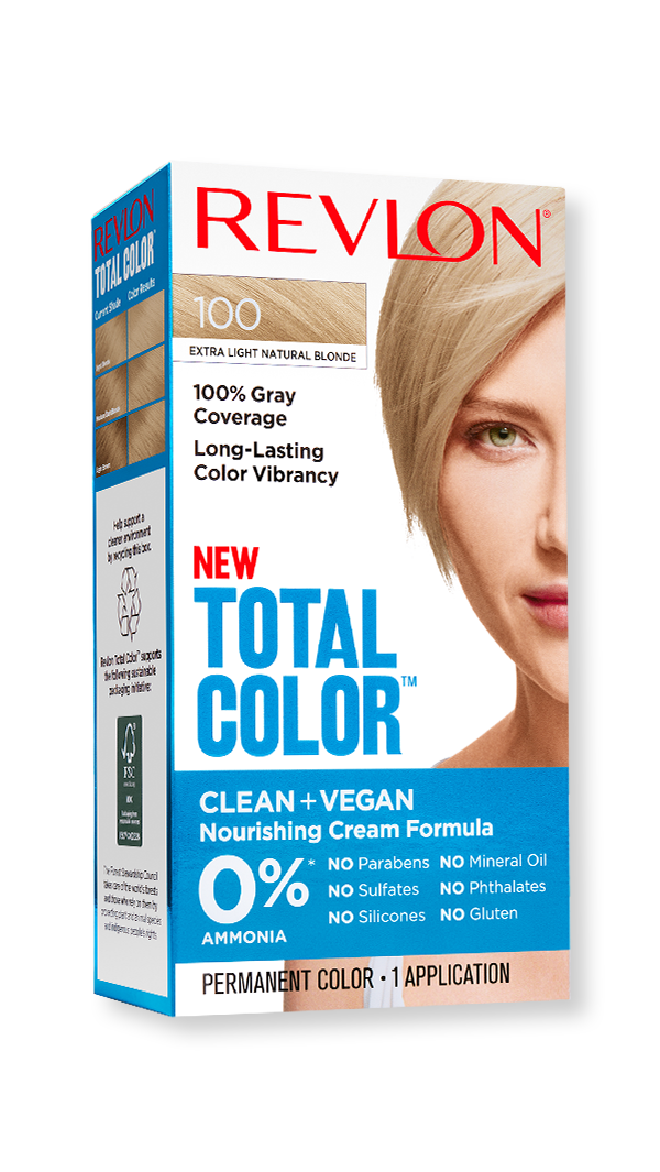 Revlon hair color total color extra light natural blonde hero 9x1