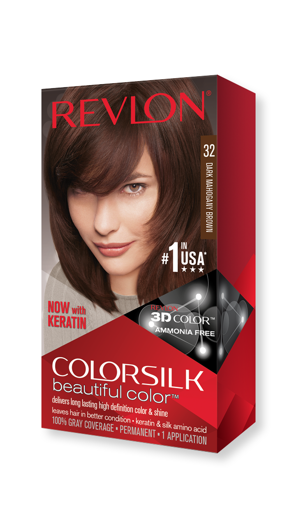 revlon hair hair color colorsilk beautiful color dark mahogany brown 309978695325 hero 9x16