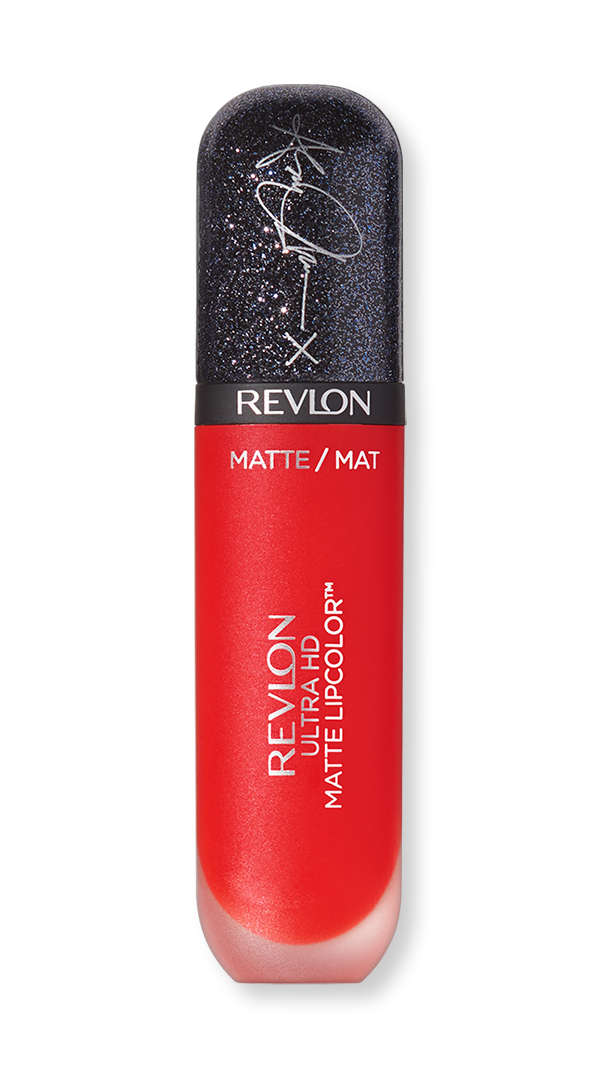 revlon ashley graham ultra hd matte lipcolor red affair hero